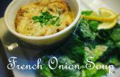 Französische Zwiebelsuppe - eine einfache Anleitung, eine Portion des Französisch Zwiebelsuppe machen