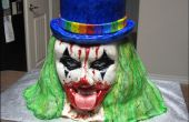 Wie erstelle ich ein böser Clown Kuchen.