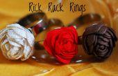 Rick Rack Ringe DIY