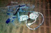 Nützliche & langlebige 7 litzige Seile (Seil) aus Plastiktüten