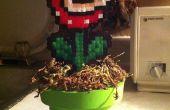 Wie erstelle ich eine Piranha-Pflanze mit einem Schlauch