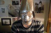 Wie erstelle ich eine Avantgarde-Roboter-Maske
