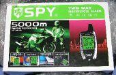 Installation einen SPY 5000-zwei-Wege-Motorrad-Alarm in einem 1998 Honda CB250 Nighthawk