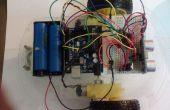 Arduino Roboter bewegen vorwärts und rückwärts mit HC-SR04 und L293D