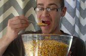 Wie Reh Mais Essen