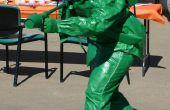 Kunststoff grün Spielzeugsoldat mit Flammenwerfer-Kostüm