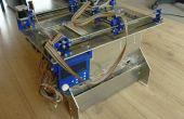 Plan B, ein open-Source 3DP (Pulver und Inkjet) 3D-Drucker
