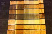 Stahlwolle und Essig Holz Altern/Ebonizing/Verwitterung (A kontrollierten Experiment)