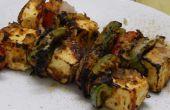 Restaurant-Stil geräucherte Paneer Tikka (ohne Tandoor-Ofen/Grill)