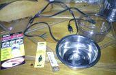 DIY Piepsen/sichere beheizten Wassernapf für Haustiere