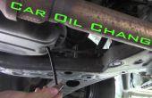 Auto Öl Wechsel-der richtige Weg