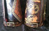 Hand nachgerüstet Leder Bracer