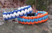 Wie erstelle ich eine zweifarbiger Survival Armband
