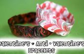 DIY-Valentinstag & Anti - Vday Armbänder!