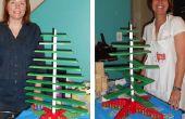 Machen Sie Ihren eigenen Weihnachtsbaum aus Holz