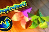 Wie erstelle ich eine Origami-Blume Lilium