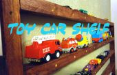 """Spielzeug Auto Regal (hergestellt aus 2 """"x 4""""s)"""