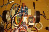 Mobile betrieben Arduino Uno Roboter mit DTMF