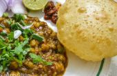 Chole Bhatura-Punjabi Street Food