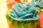 Lust auf Blumen Cupcakes