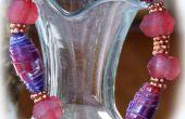 Recycling-Kunststoff Perlen Armbänder
