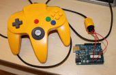 Verwenden Sie einen Arduino mit einem N64-Controller