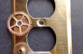 Wie zu Steampunk dekorieren eine elektrische Wandplatte