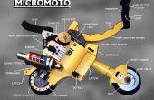 MICROMOTO Mini faltbar tragbare Motorrad