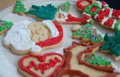 Urlaub Sugar Cookies mit Royal Icing