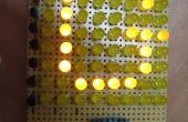 Machen Sie eine 8 x 10 LED-Matrix