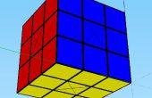 Rubiks Cube an Google SketchUp arbeiten
