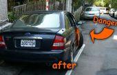Auto Tür Warnfarbe