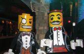LEGO Mann Kostüm - Minifiguren - Lego Magier und Lego Sir