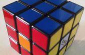 Rubiks Cube Tricks: vier Spots