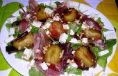 Sophies Ende des Sommer-Salat mit gerösteten Pflaumen & Plum Dressing!