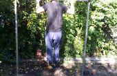 Manly Pullup bar (Stahl und Beton!) (muss Schweißen)