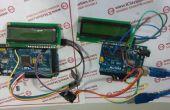 NRF2L401 Wireless PC Datenübertragungssystem mit Arduino