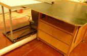 -Abführung Tisch von Ikea