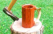 Wie erstelle ich einen Becher aus Schrott Hard Wood Flooring