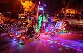 Bubbletrain mit 16 Monkeylights von Sheldon Hambrick