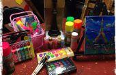 Gewusst wie: eine Glow-Kunst-Party zu Hause haben