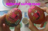 Peppa Pig Glitter Eiern!