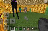 Kampf gegen Mobs In Minecraft P.E!!!