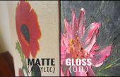 Wie erkennen Sie den Unterschied zwischen einem Öl und Acryl-Malerei