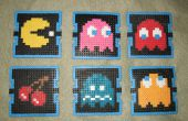 Pac Man Getränke Untersetzer (Perler Beads)