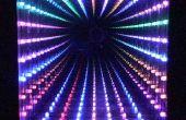 Wählbare LED Unendlichkeit Spiegel, 32 LEDs, Muster, Qualität Frame
