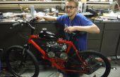 79cc motorisierte Fahrrad von Grund auf neu
