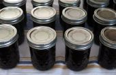 Blaubeeren Marmelade gewürzt