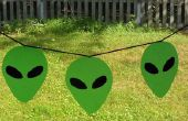 Faux Glasmalerei Alien Banner & andere Projekte