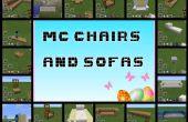 Minecraft-Stühle und Sofas